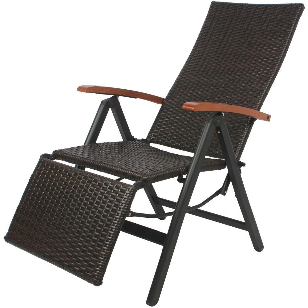 Giardino Relax-Gartenstuhl 5-fach verstellbar mit ...