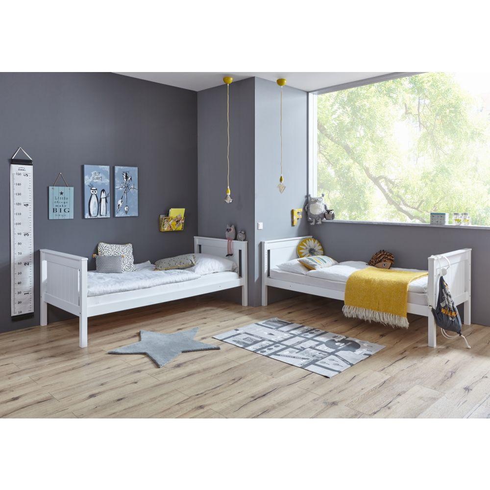 etagenbett hochbett stockbett kinderbett mia mit schublade. Black Bedroom Furniture Sets. Home Design Ideas
